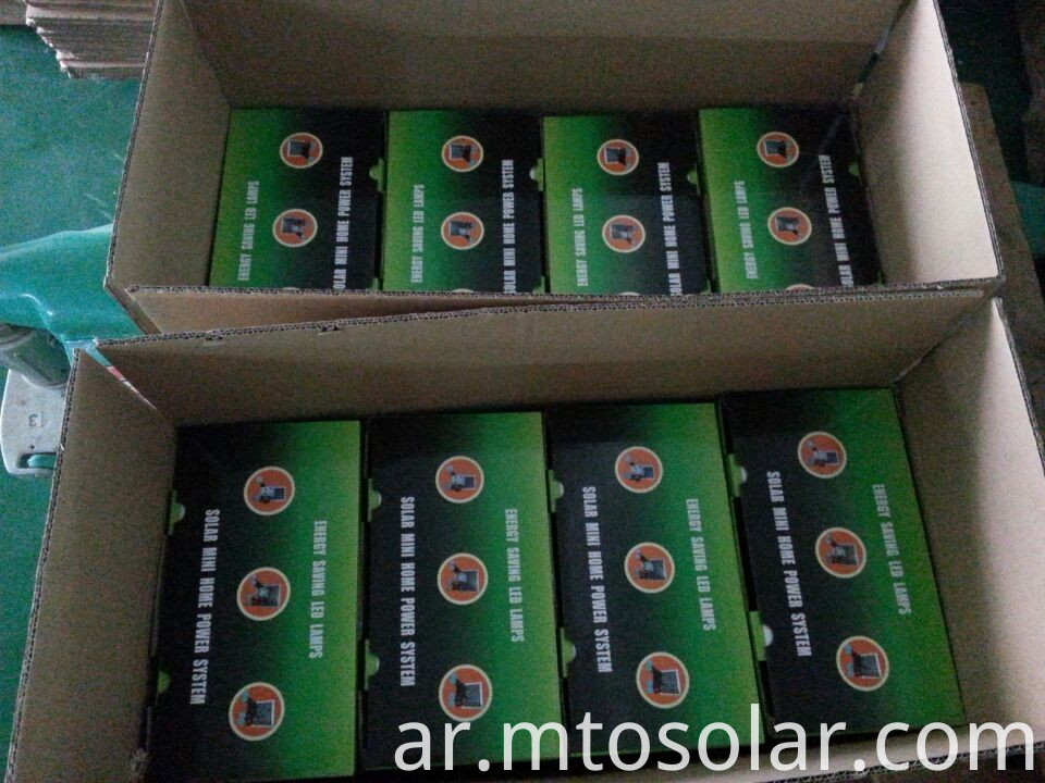 packing of solar product