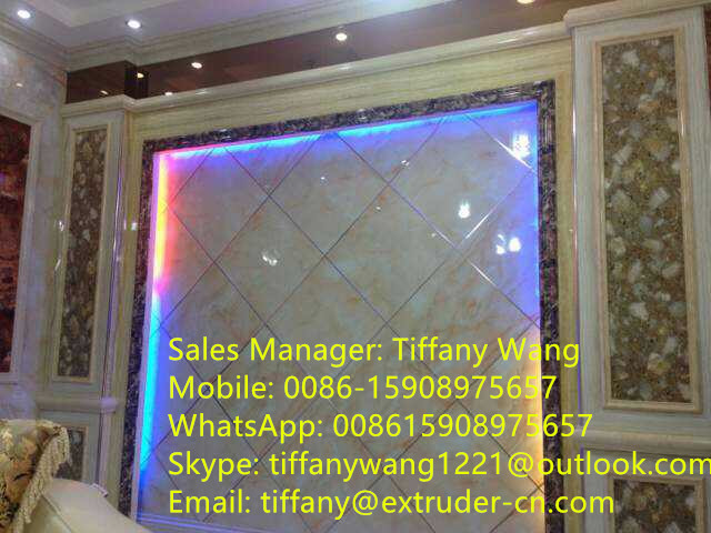 PVC Decoration Board Extrusion Machine
