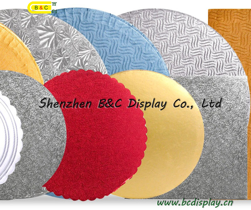 Different Shape and Size Round Cake Boards Square Cake Boards with SGS (B&C-K003)
