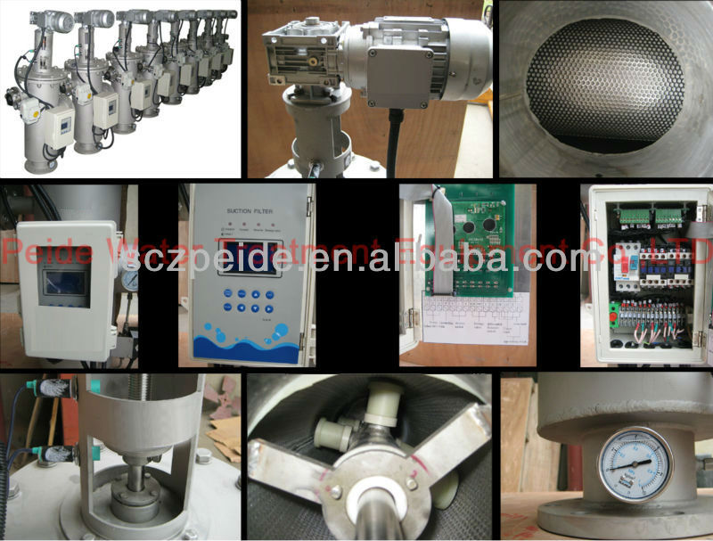 Self Cleaning Water Filters for Irrigation Fish Farm