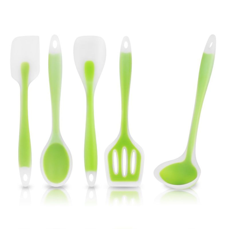 Hot Selling Heat Resistant Non-Stick Silicone Kitchen Utensil Set
