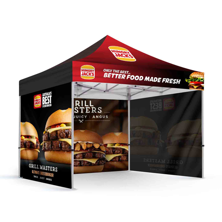 pop up advertising tent