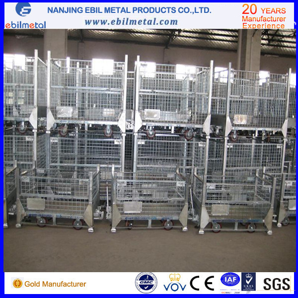 High Quality with CE Steel Foldable Wire Container /Box