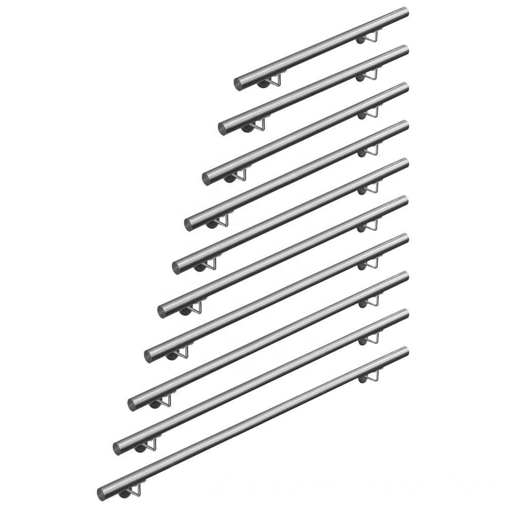 Balustrades Stainless Steel Staircase Wall Mounting Railing