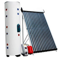 Heat Pipe Vacuum Tubes Solar Collector for EU Markets