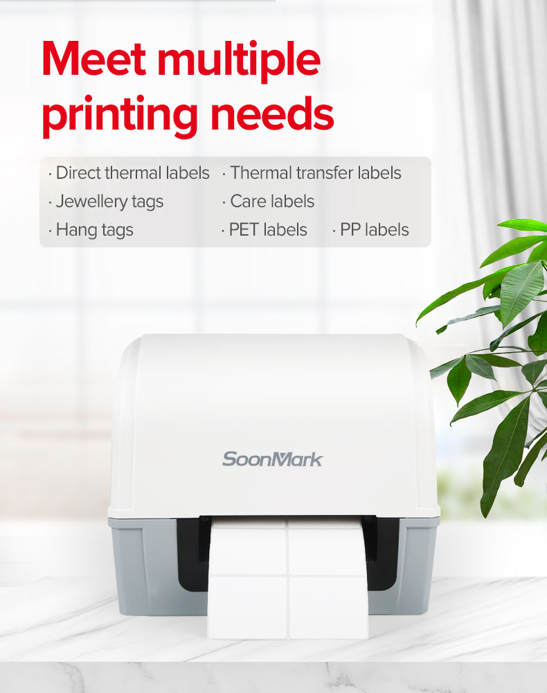 wifi thermal transfer label printer