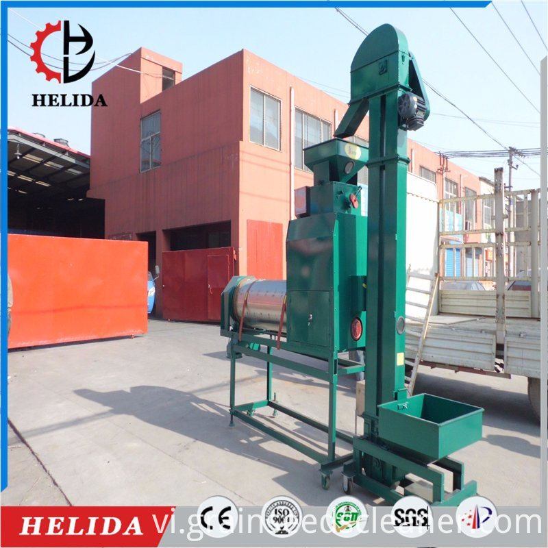 wheat seed coating machine