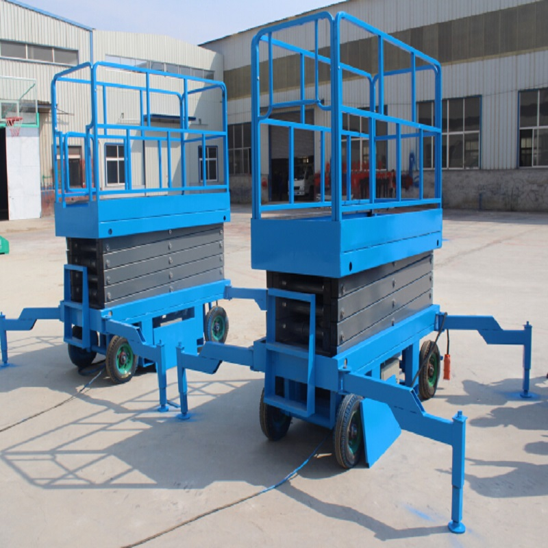 Small Aerial Mobile One Man Scissor Lift Table