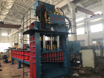 Machine hydraulique de cisaillement de mise en balles de ferraille Q91y-500 pour l'acier de Hms