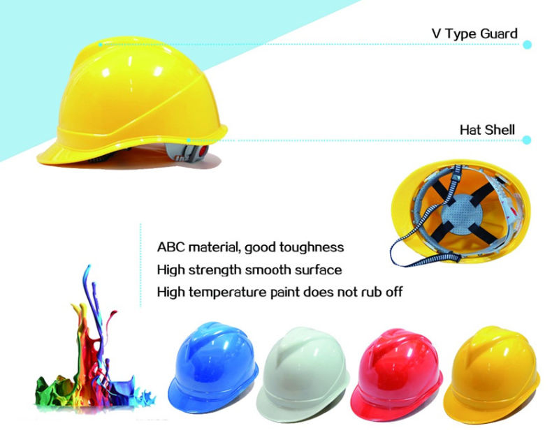 CE EN397 ABS/Instruction Safety Helmet/Hard Hat