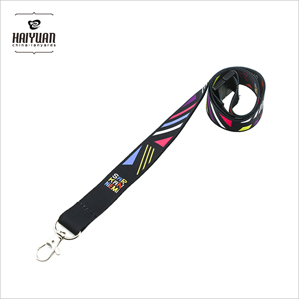 100PCS High Quality Black Neck Strap Lanyard for ID Card /Cell Phone 3/4