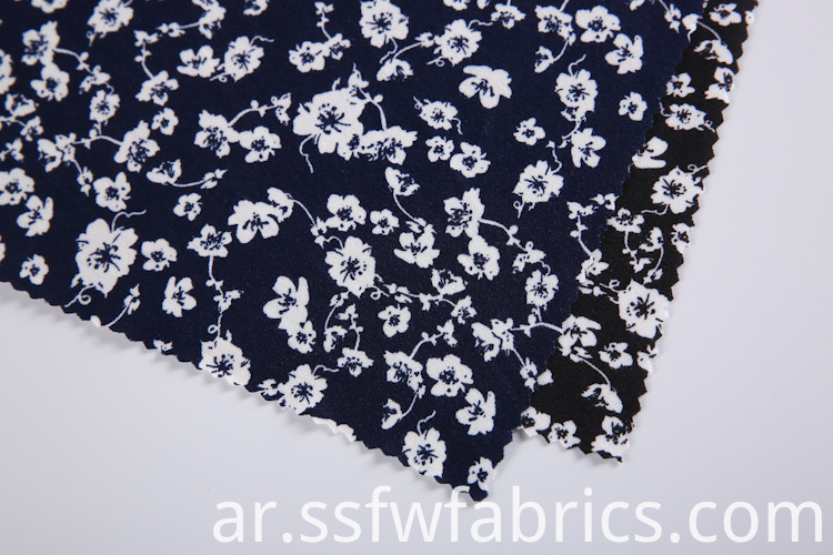 Small Flowers Pattern Fabric Custom Printing