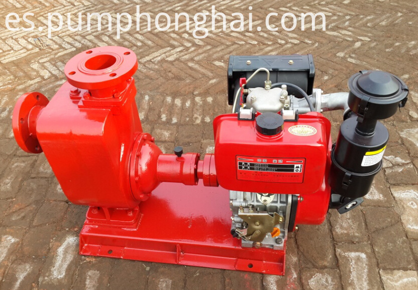CYZ centrifugal pump driven by gasoline engine