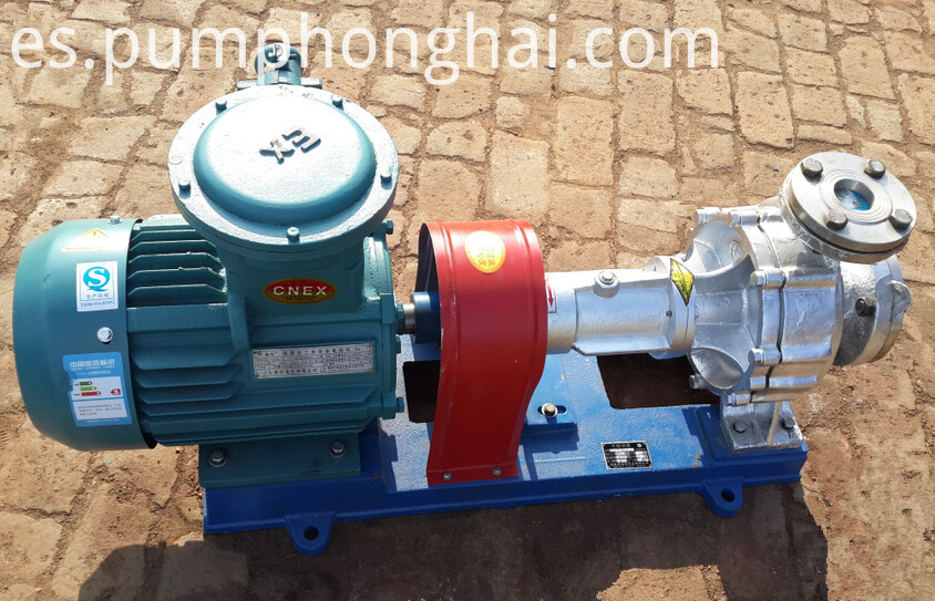 Stainless steel material pump with air-cooled equipment