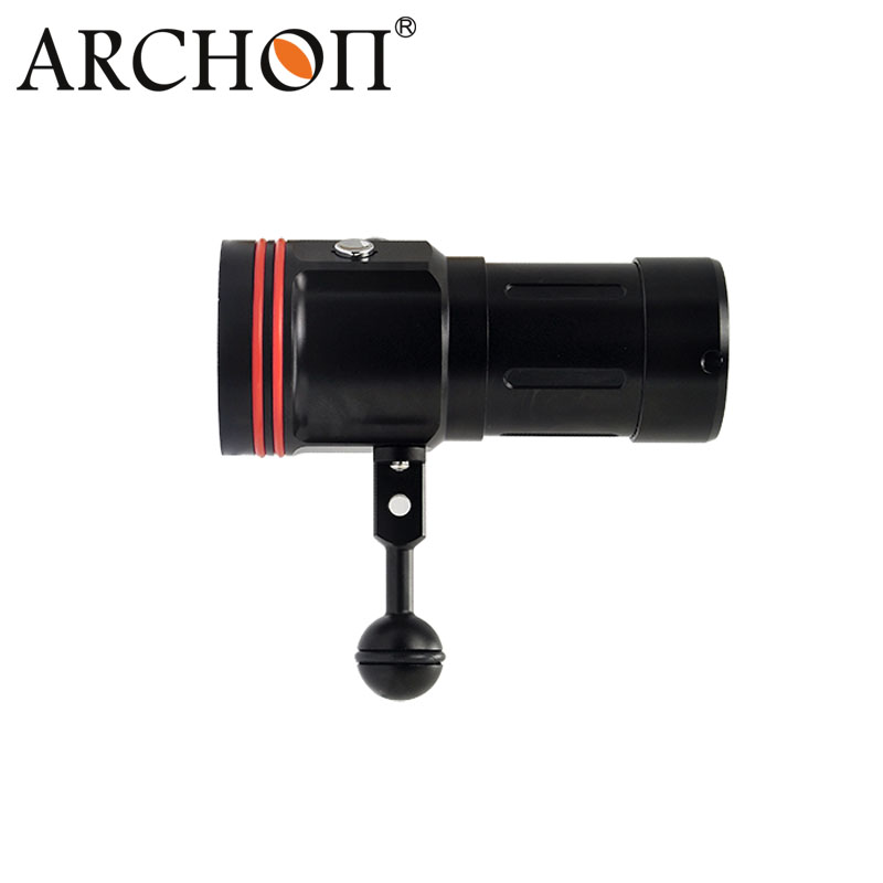 CREE Xml-L2 5200lm Underwater IP68 100m Depth Diving Video Torch Light