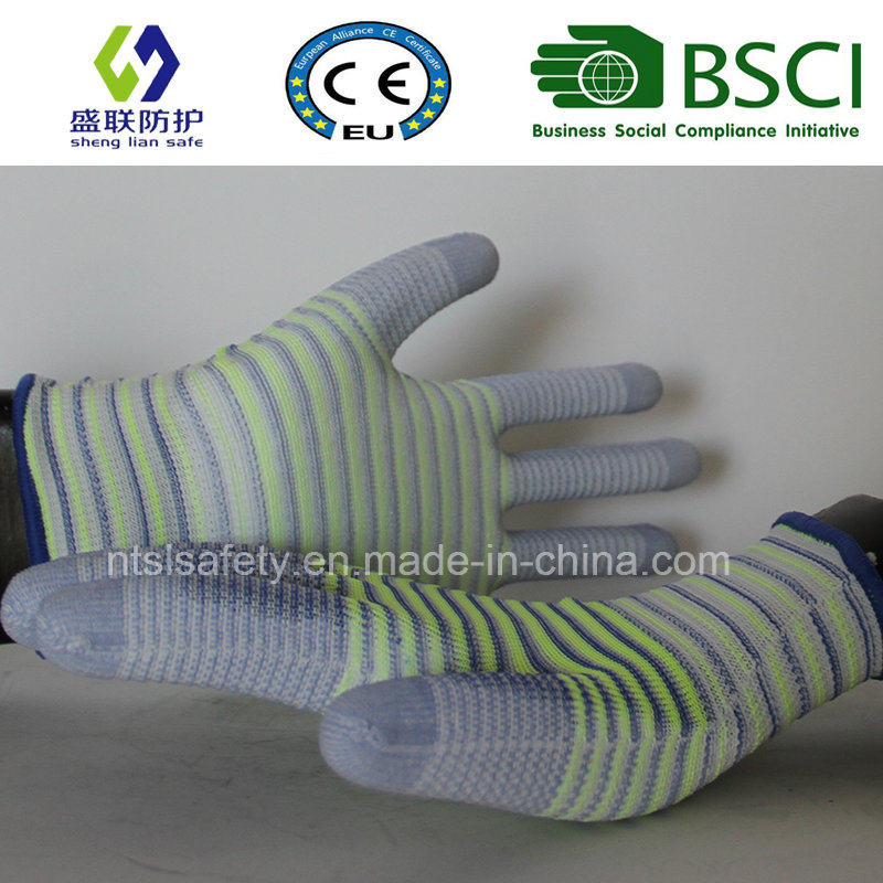 ESD Nylon PU Top Fit Glove (SL-PU201U3)