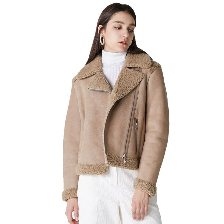 Women Suede Jacket