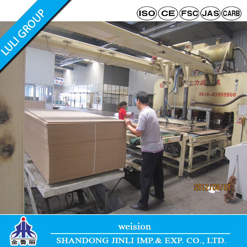 Hot Sell Melamine MDF Board From Luli Group
