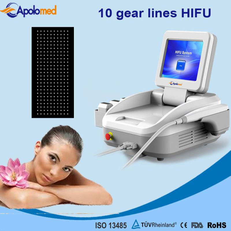 New Design portable Clinic Use Hifu Ultrasound Face Wrinkle Removal Beauty Machine