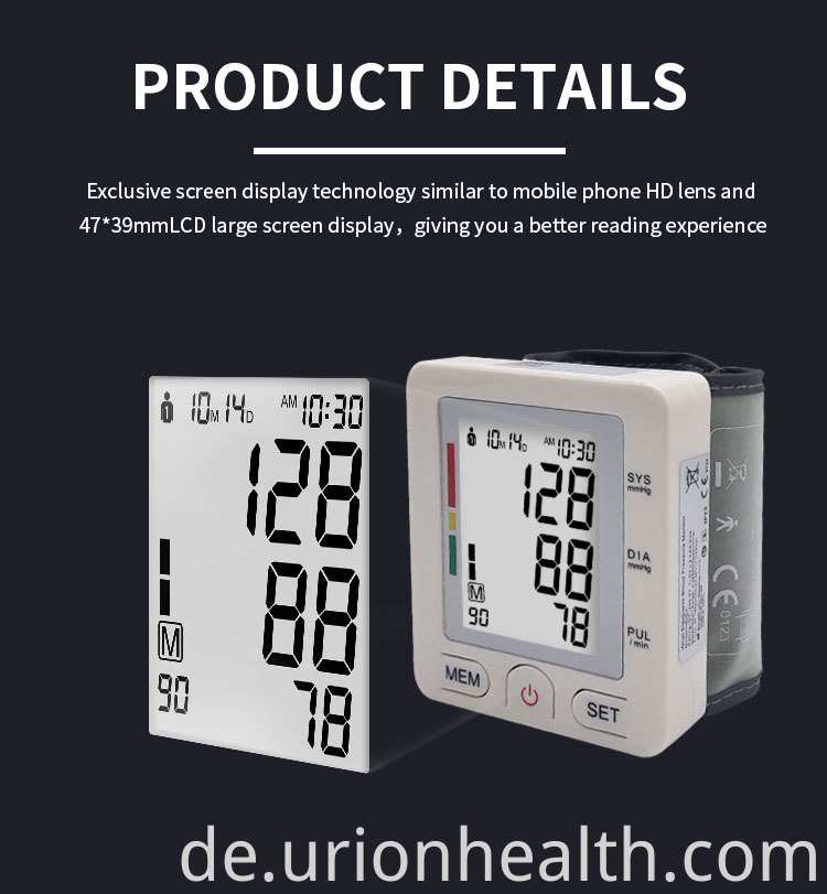 Blood Pressure Monitor FDA