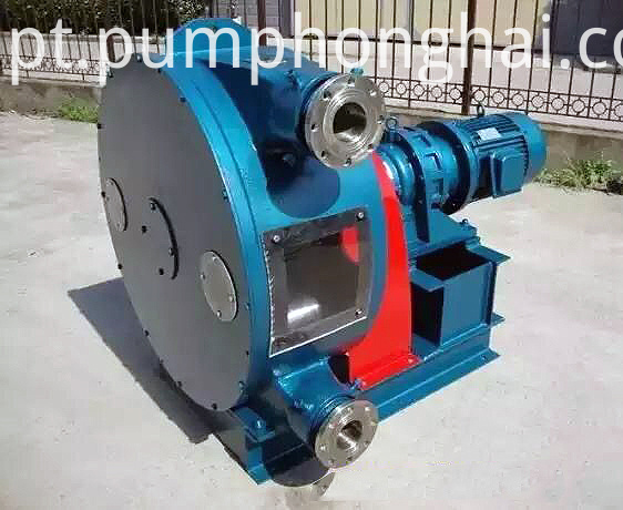 Hose Pump for Conveying Concrete
