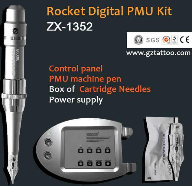 Newest Rocket Permanent Makeup Digital Tattoo Pen Machine (ZX1352)