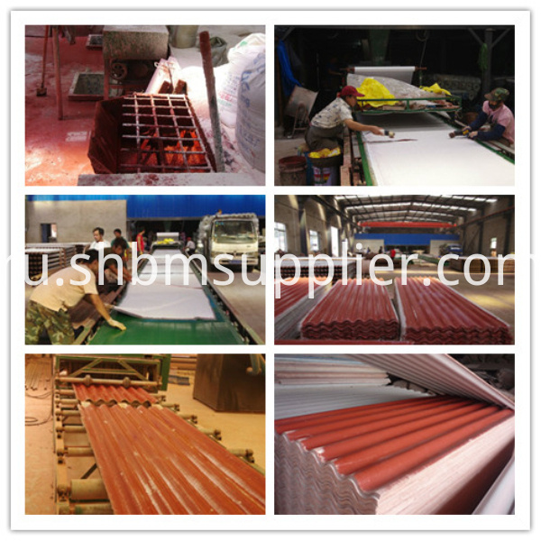 High strength roof machine line