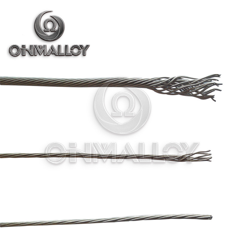 19 Strands Nicr 80/20 Nichrome Thermo-Electric Alloys Wire for Heat-Generation Components