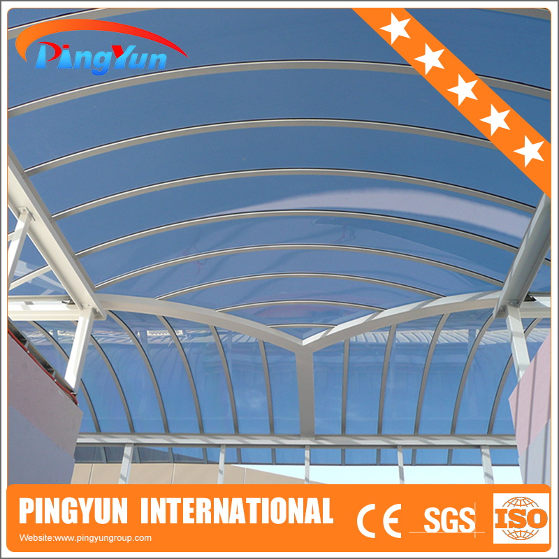 polycarbonate sheet for warehouse