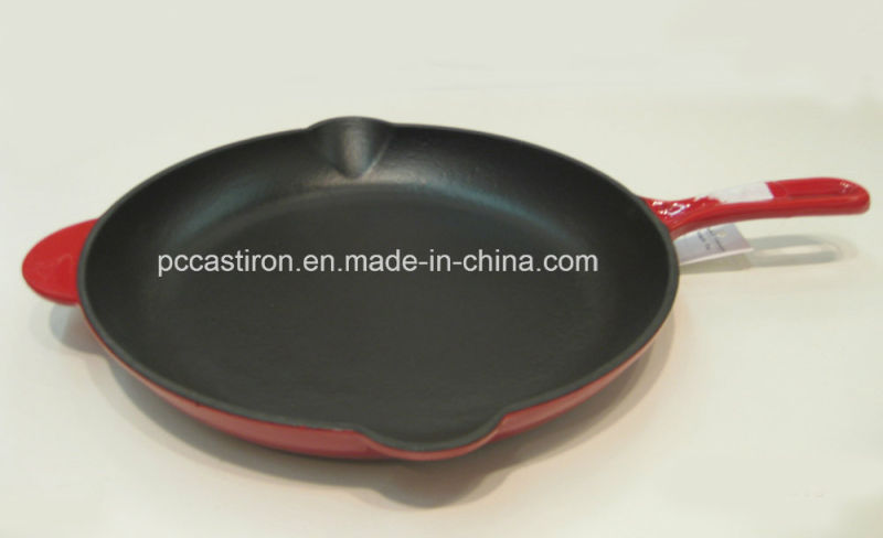 Enamel Cast Iron Frypan Set 16cm 20cm 25cm
