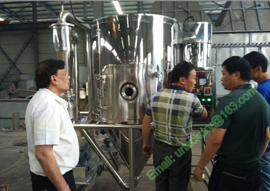 High Speed Centrifugal Spray Dryer for Drying Polymer