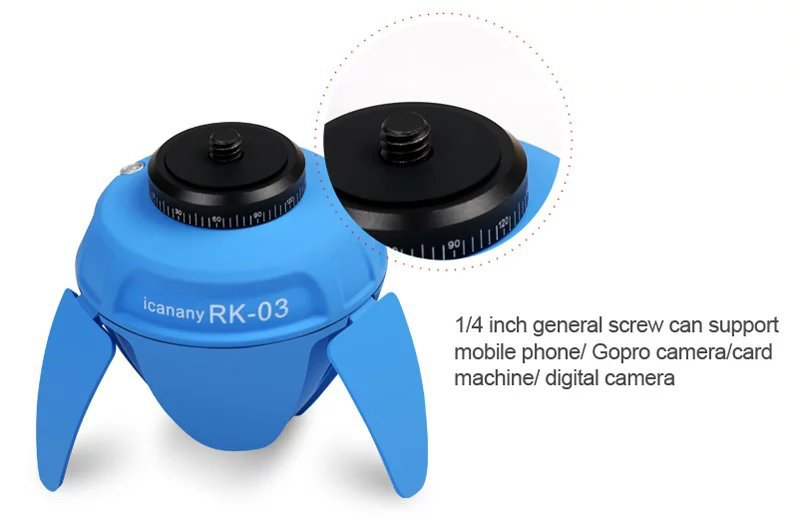 Mini Smart Selfie Robot, Portable Wireless Bluetooth Selfie Robot