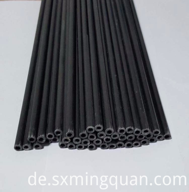 6.9mm black fiberglass tube