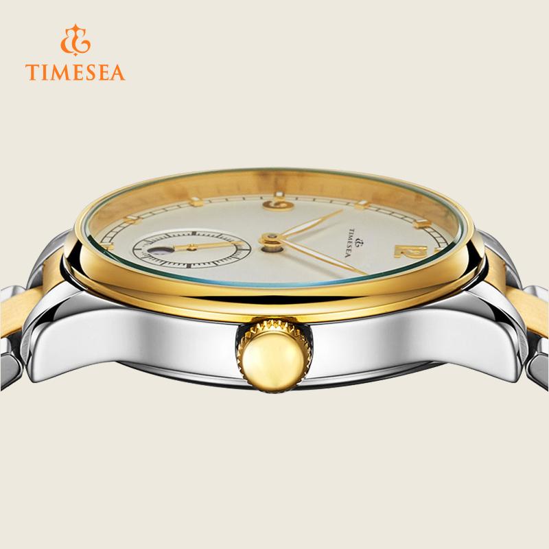 Luxury Mens Automatic Watch Waterproof Business Wristwatch 72289