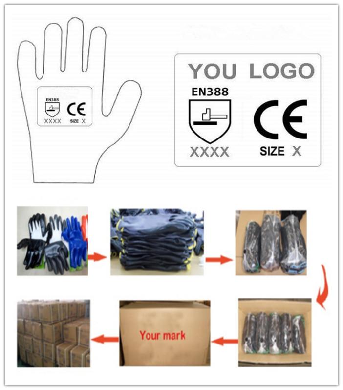 Cotton Jersey Gloves