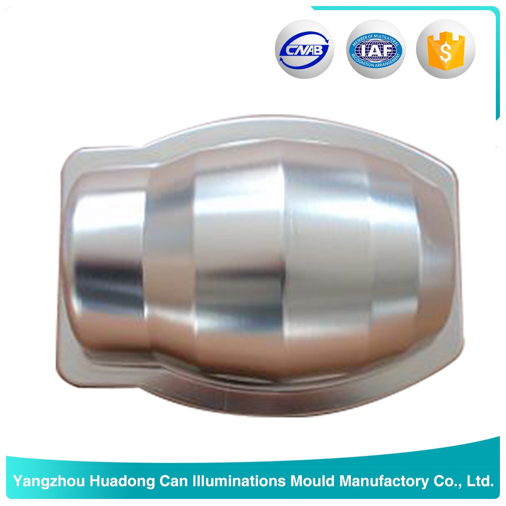 Anodized street light lamp housing safety reflector