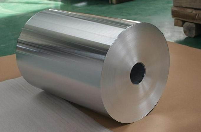 Customized Aluminum Heat Transfer Fin Foil 76mm / 150mm / 200mm Aluminium Foil Coil