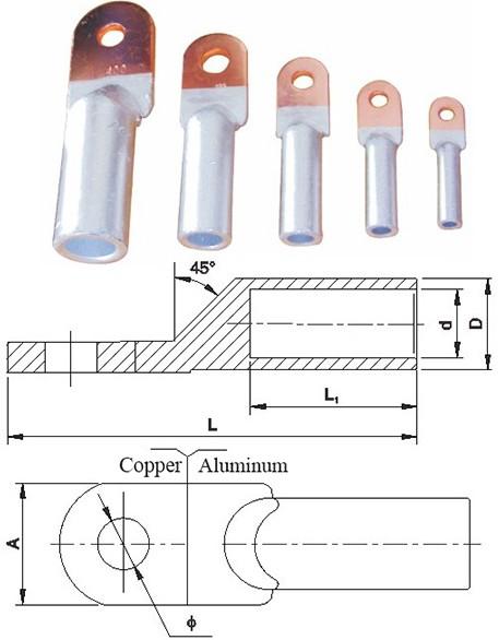 Dtl Type Copper & Aluminum Connecting Terminals