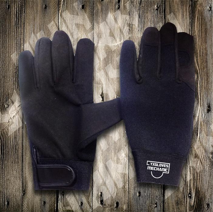 Black Glove-Working Gloves-Safety Glove-Cheap Gloves-Labor Gloves-Industrial Glove