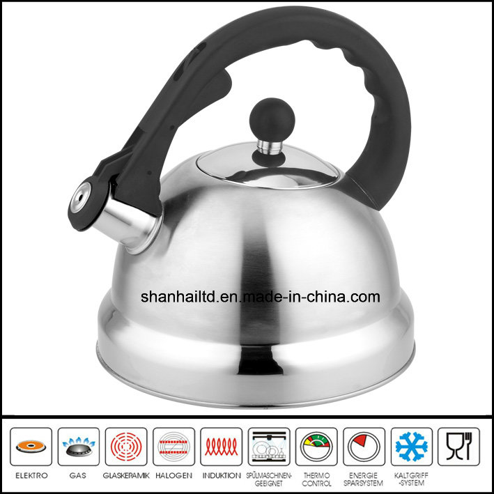 Large 5.0L Stainless Steel Whistling Kettle