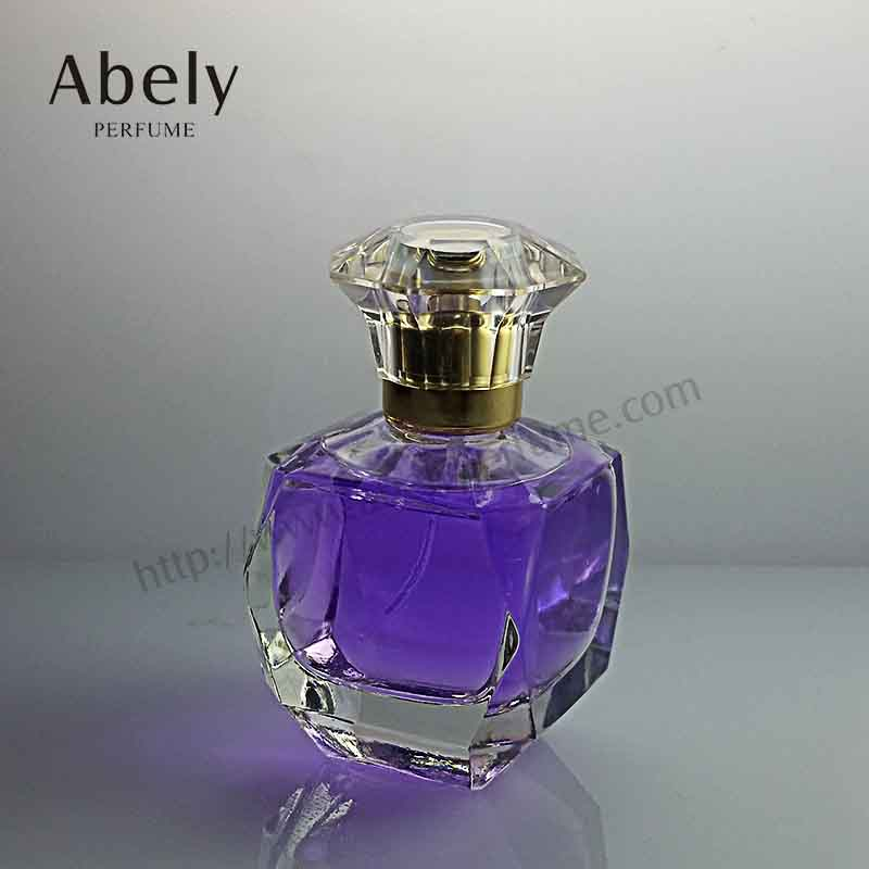 50ml Designer Glass Perfume Bottle with Luxury Crystal