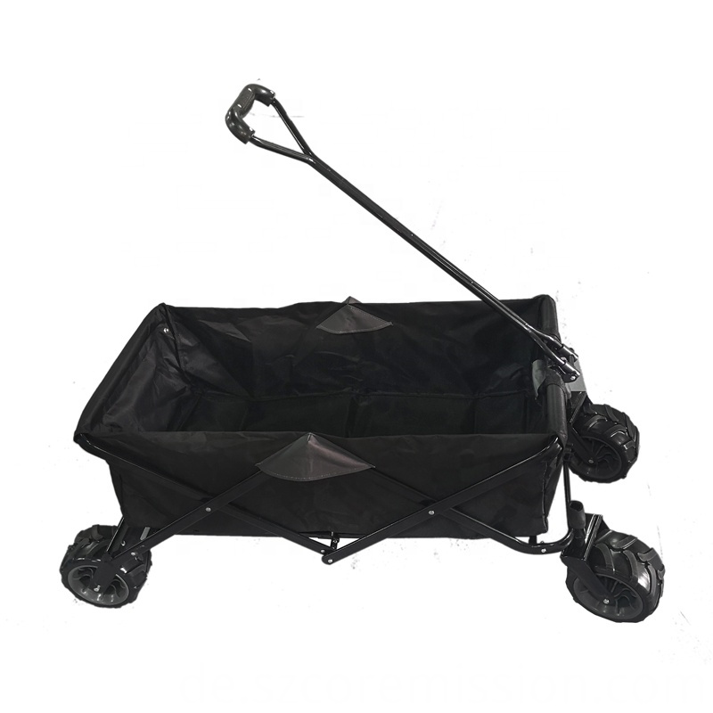 No Roof Portable Folding Garden Beach Trolley Cart