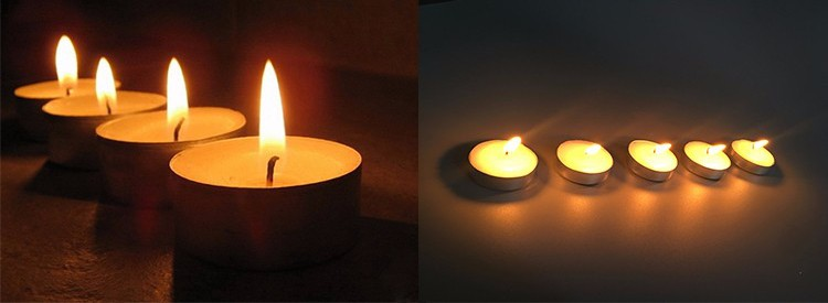 Smokeless Tealight Candles
