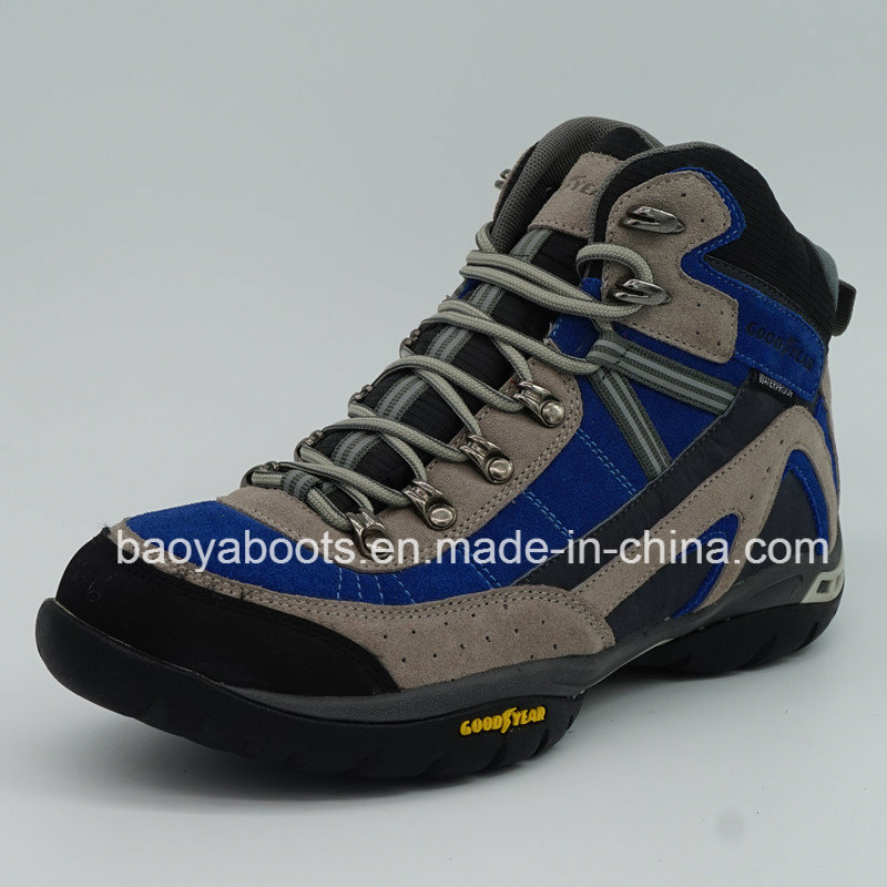 Good Quality Men Trekking Shoes Outdoor Hiking Shoes with Waterproof