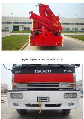 HOWO 8 Doors Fire Trucks for Emergency Rescue