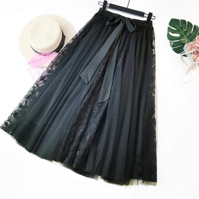 Ladies Bubble Embroidery Skirt