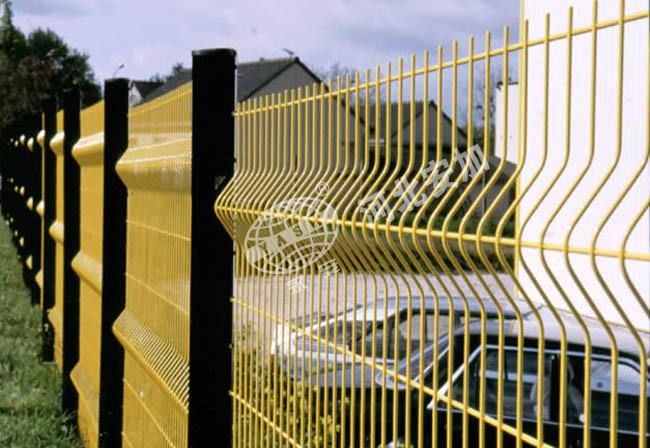 PVC Coated Highway Security Post Fence (Anjia-067)