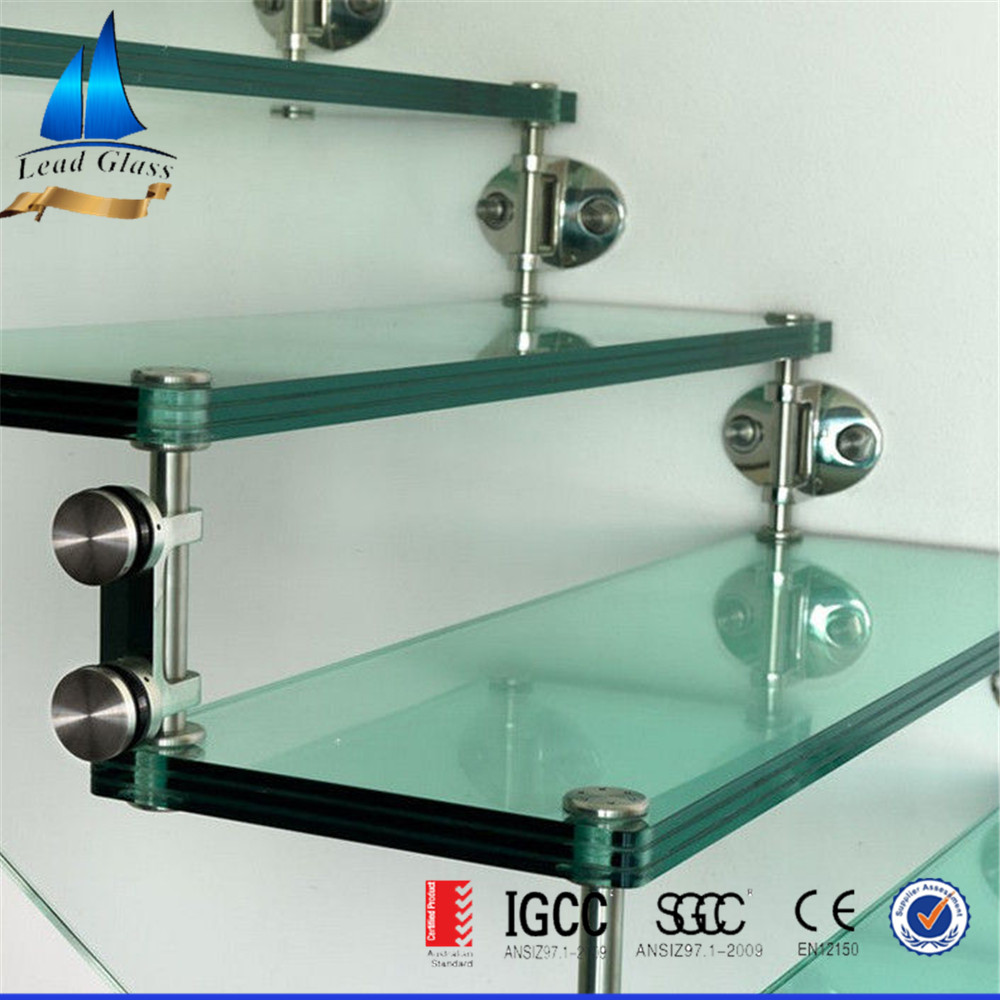 Staircase Laminated Glass