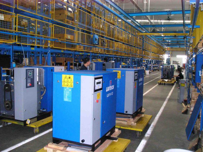Atlas Copco Liutech 357cfm 12bar Portable Diesel Air Compressor