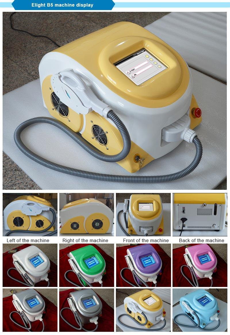 Salon/Home Elight IPL Laser Skin Rejuvenation Machine with Cooling Effect